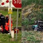 Groźny wypadek w Zachodniopomorskiem. Motorowerzysta zderzył się z pociągiem
