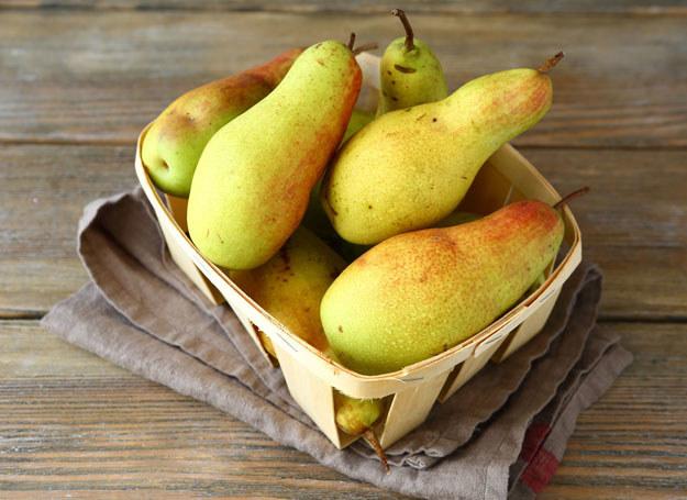 Gruszki to owoce niedoceniane. /123RF/PICSEL