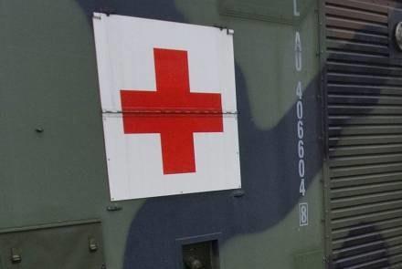 Gruzja potrzebuje pomocy z zewnątrz, także medycznej. /AFP