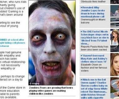 """""""Gry są złe"""" - manipulacja brytyjskiej gazety?"""
