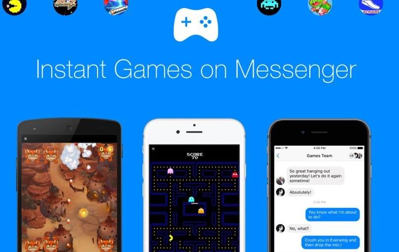 Gry w aplikacji Messenger sprawią, że będzie ona ważyła jeszcze więcej /materiały prasowe