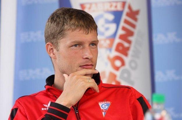 Grzegorz Bonin po 3 latach gry w Górniku odchodzi z Roosevelta /www.gornikzabrze.pl
