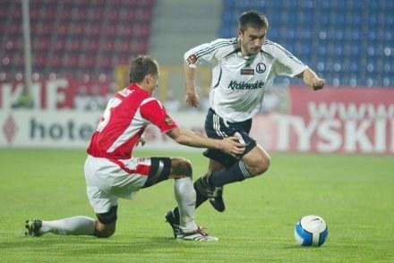 Grzegorz Bronowicki (z prawej)/Fot: Tomasz Markowski /Agencja Przegląd Sportowy