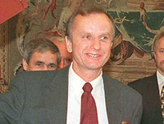 Grzegorz Kołodko. Zdjęcie z 1996 roku /JACK GUEZ /AFP