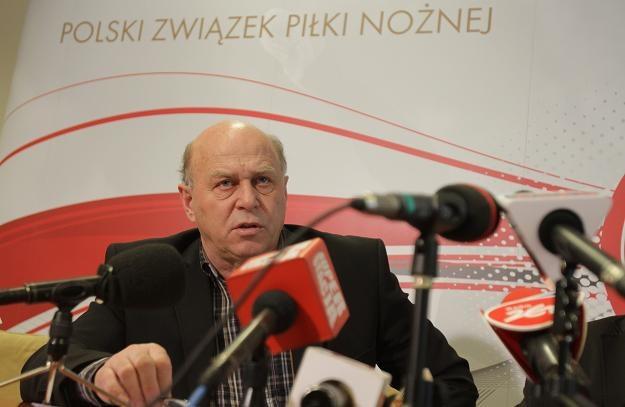Grzegorz Lato, prezes PZPN wzywa do współpracy kluby/fot. Bartłomiej Zborowski /PAP