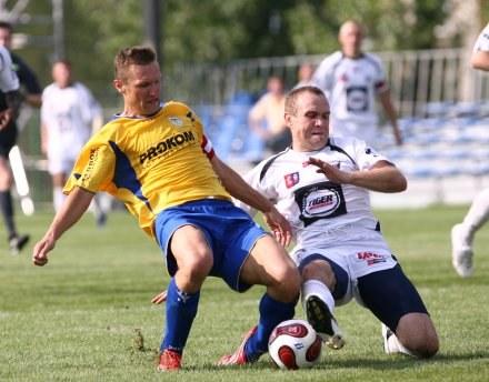 Grzegorz Niciński (z lewej) /Agencja Przegląd Sportowy