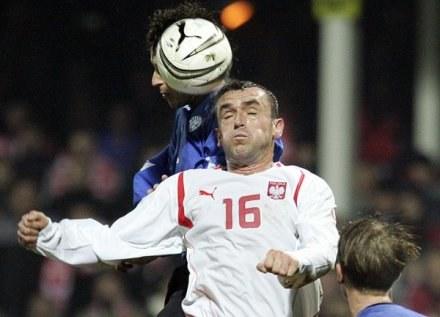 Grzegorz Piechna grał kiedyś w reprezentacji Polski. Ostatnio nie poradził sobie w Stróżach /AFP