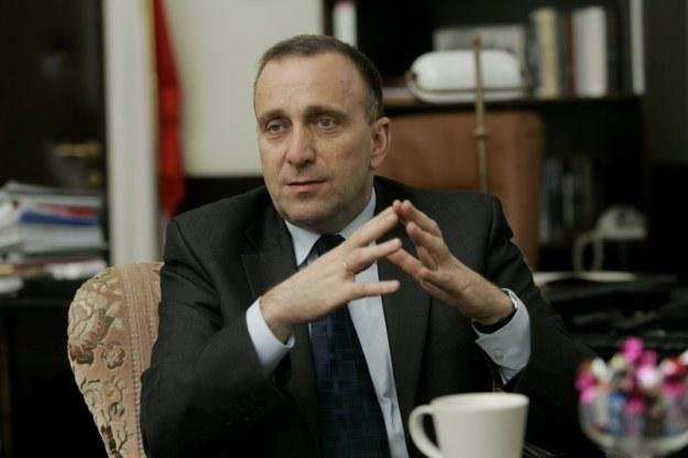 Grzegorz Schetyna, fot. Michał Niwicz /Agencja SE/East News