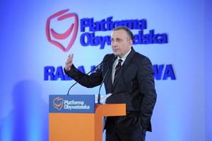 """Grzegorz Schetyna poza zarządem. """"Bolesne, ale konieczne"""""""