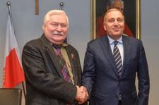 Grzegorz Schetyna spotkał się z Lechem Wałęsą