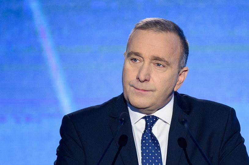 Grzegorz Schetyna, szef PO /Rafal Oleksiewicz /Reporter