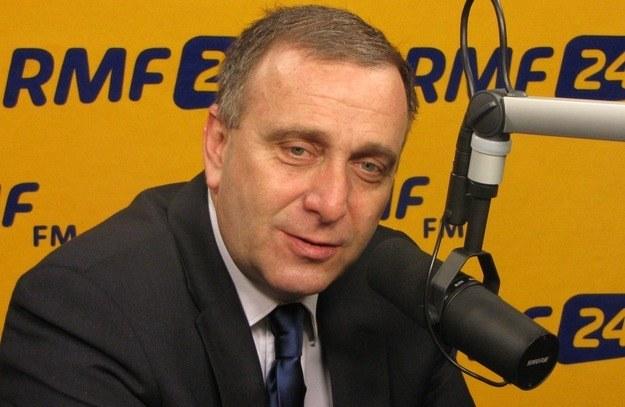 Grzegorz Schetyna w rządzie Ewy Kopacz /RMF FM