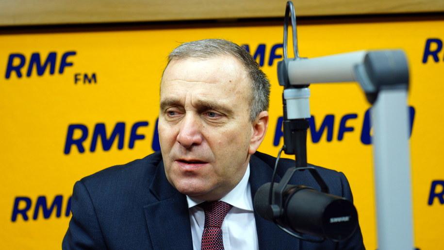 Grzegorz Schetyna /Michał Dukaczewski /RMF FM
