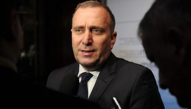 Grzegorz Schetyna /PAP/EPA/Tobias Hase   /PAP/EPA