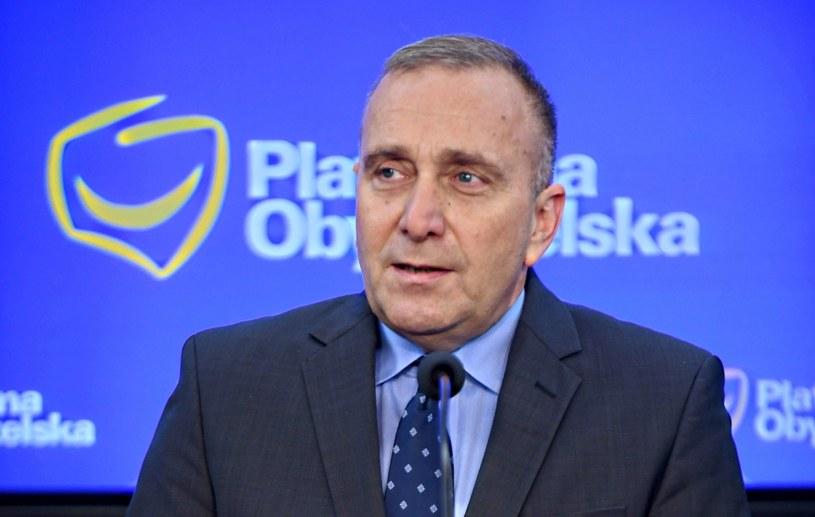 Grzegorz Schetyna /Bartłomiej Zborowski /PAP