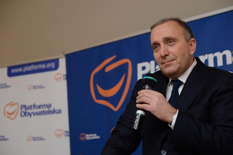 Grzegorz Schetyna /Łukasz Kalinowski /East News