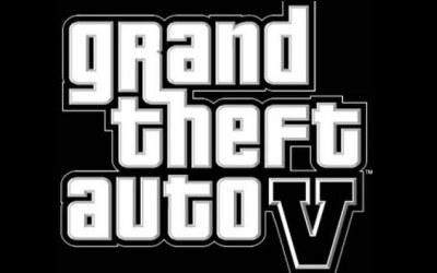 GTA V - logo /Informacja prasowa
