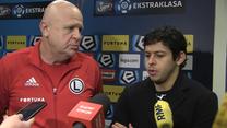 Guilherme po meczu Legia - Wisła. Wideo
