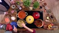 Gulasz jarzynowy i zupa z soczewicy, czyli gotowanie z Agnieszką Maciąg
