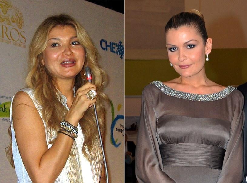 Gulnara Karimova (L) i Lola Karimova /AFP