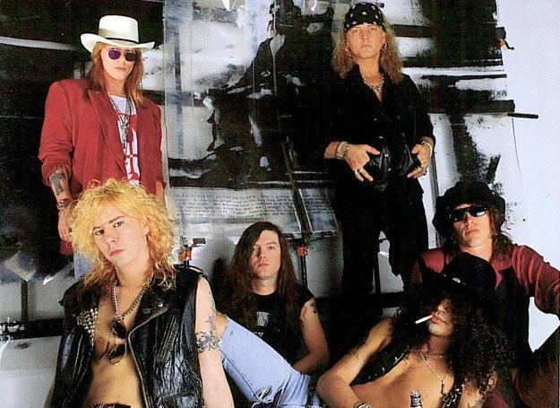 Guns N'Roses na początku lat 90. /