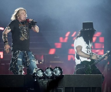 Guns N'Roses wystąpią w przyszłym roku w Polsce
