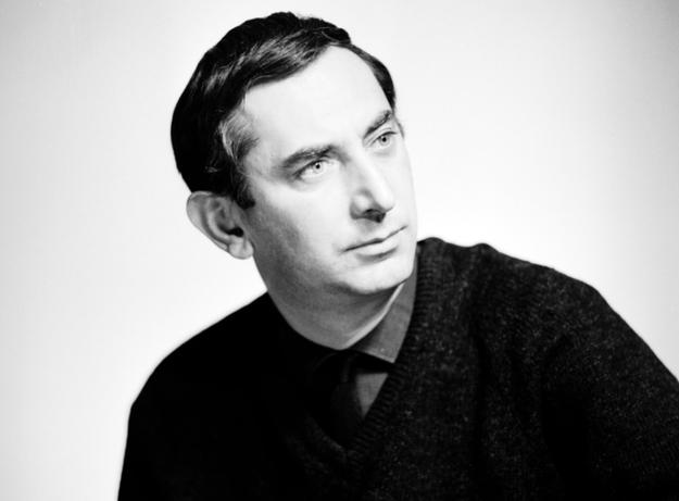 Gustaw Holoubek. Fotografia portretowa /Edward Hartwig /Z archiwum Narodowego Archiwum Cyfrowego