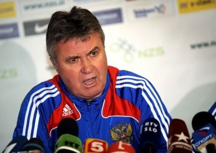 Guus Hiddink /AFP