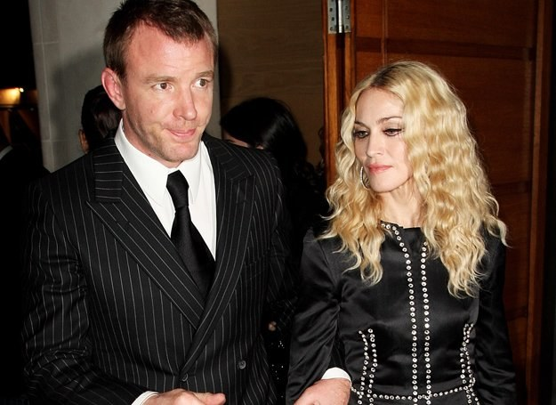 Guy Ritchie i Madonna /Getty Images/Flash Press Media