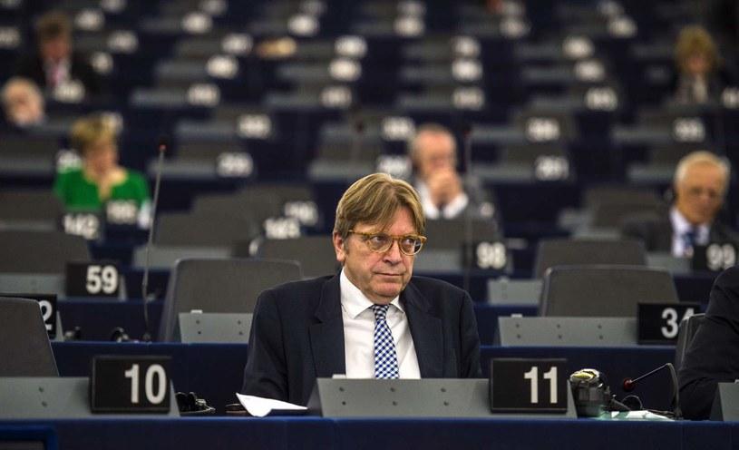 Guy Verhofstadt /PATRICK HERTZOG /AFP