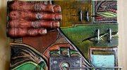 Gwałtowny świat ulanowskiego artysty