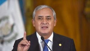 Gwatemala: Prezydent rezygnuje po skandalu