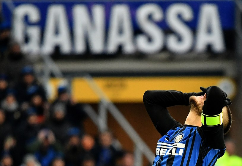 Gwiazda Interu Mauro Icardi /AFP