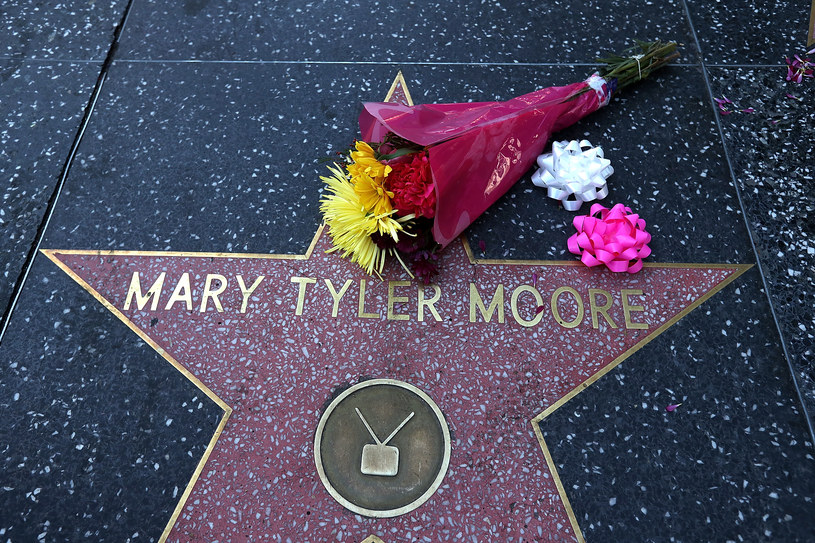 Gwiazda Mary Tyler Moore w Hollywood /Justin Sullivan /Getty Images