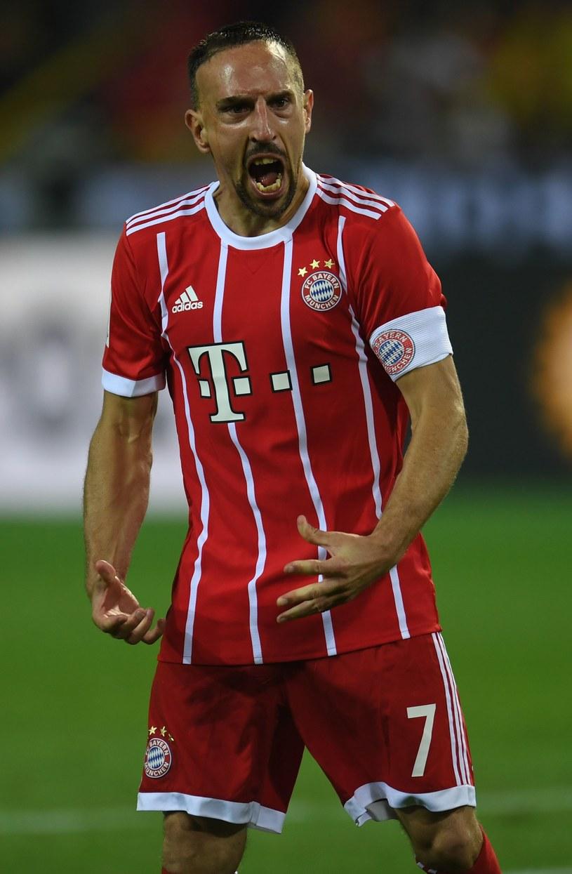 Gwiazdor Bayernu Franck Ribery ma już 34 lata /AFP