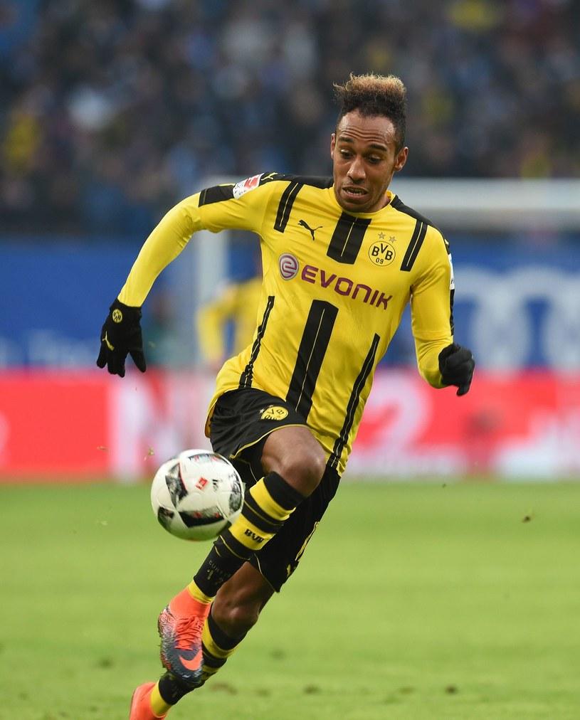 Gwiazdor Borussii Dortmund Pierre-Emerick Aubameyang /AFP