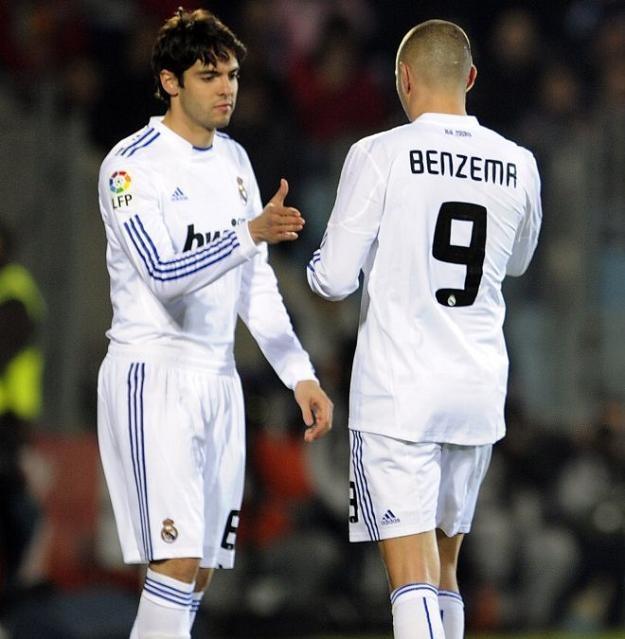 Gwiazdor Realu Madryt, Kaka wrócił do gry po długiej przerwie spowodowanej kontuzją /AFP