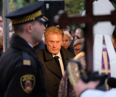 Gwiazdy na pogrzebie Andrzeja Wajdy