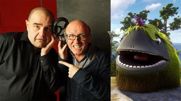 """Gwiazdy serialu """"Ranczo"""" wystąpią razem w dubbingu animacji """"Ups! Arka odpłynęła..."""" /materiały dystrybutora"""