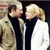 Gwyneth Paltrow z mężem /Archiwum
