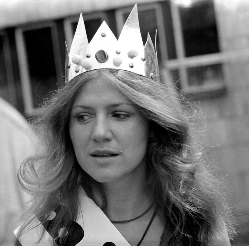 Halina Frąckowiak w Opolu w 1975 r. /fot. Lesław Sagan /East News