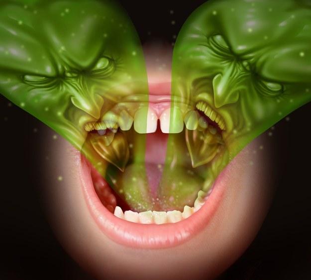 Halitoza czyli fetor ex ore to po prostu nieprzyjemny zapach z ust /123/RF PICSEL