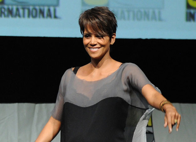 Halle Berry ma już jedno dziecko - córeczkę Nahlę /Getty Images/Flash Press Media