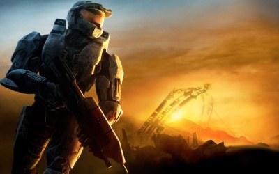 Halo 3 - fragment okładki z gry /INTERIA.PL