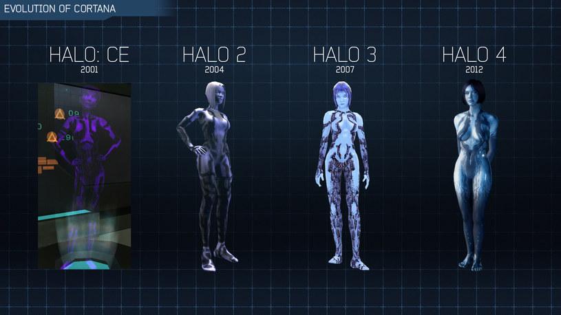 Halo - ewolucja jednej z bohaterek gry, Cortany /materiały prasowe