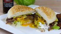 Hamburgery z jajem