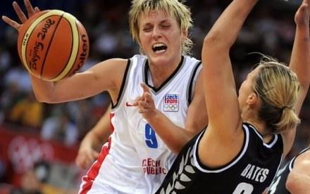 Hana Horakova - jedna z gwiazd drużyny z Brna. /AFP
