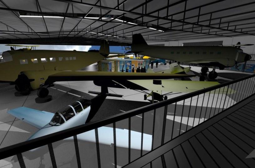 Hangar nabierze nowego wyglądu /INTERIA.PL/materiały prasowe