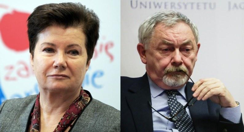 Hanna Gronkiewicz-Waltz i Jacek Majchrowski, fot. East News/ Jan Bielecki i Reporter/ Beata Zawrzel /