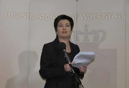 Hanna Gronkiewicz-Waltz przeprosiła mieszkańców Warszawy /INTERIA.PL